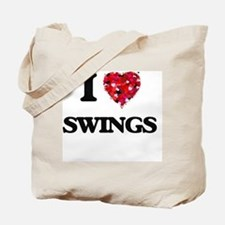 I love Swings Tote Bag