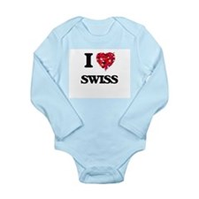 I love Swiss Body Suit