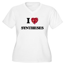 I love Syntheses Plus Size T-Shirt