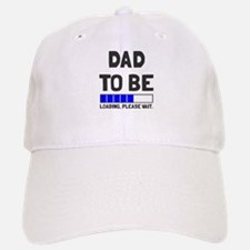 Dad to be loading please wait Baseball Baseball Cap