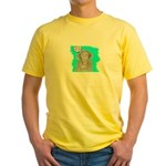 YOUR HOW OLD? Yellow T-Shirt