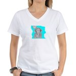 YOUR HOW OLD? Women's V-Neck T-Shirt