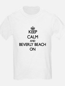Keep calm and Beverly Beach Florida ON T-Shirt