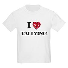 I love Tallying T-Shirt