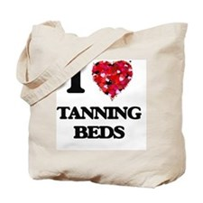 I love Tanning Beds Tote Bag