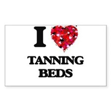 I love Tanning Beds Decal