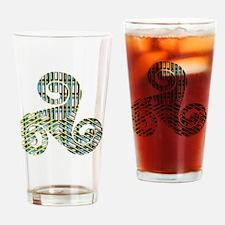 Breizh Triskel Graph 6 Drinking Glass