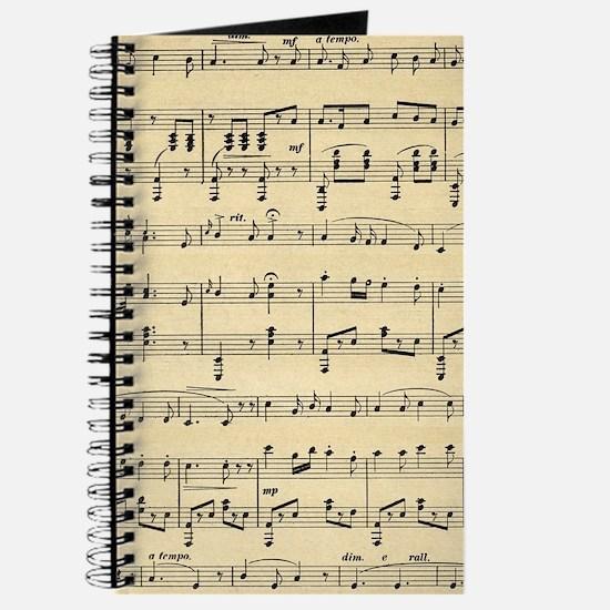 Antique Sheet Music Journal