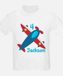 Airplane Birthday T-Shirt