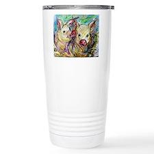 piglets, pig pair Travel Mug