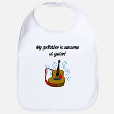 My Godfather Is Awesome At Guitar Bib