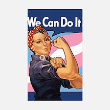Rosie Transgender Pride Decal