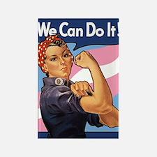 Rosie Transgender Pride Magnets