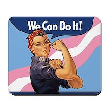 Rosie Transgender Pride Mousepad