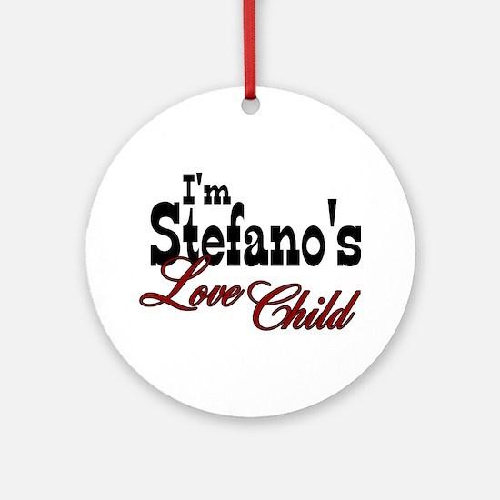Stefano's Love Child Ornament (Round)
