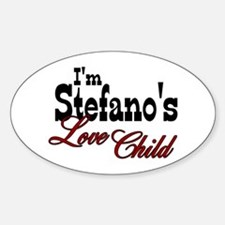 Stefano's Love Child Oval Decal
