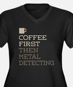 Metal Detecting Plus Size T-Shirt