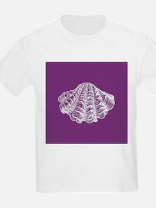 Purple Seashell T-Shirt