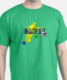 Gabon Soccer Player T-Shirt