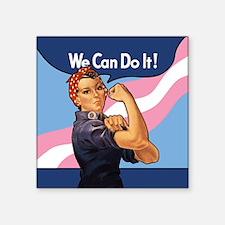 Rosie Transgender Pride Sticker