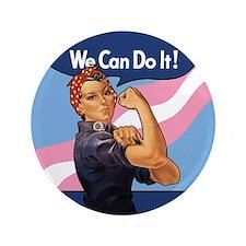 Rosie Transgender Pride Button
