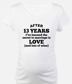 13 Years Of Love And Wine Shirt