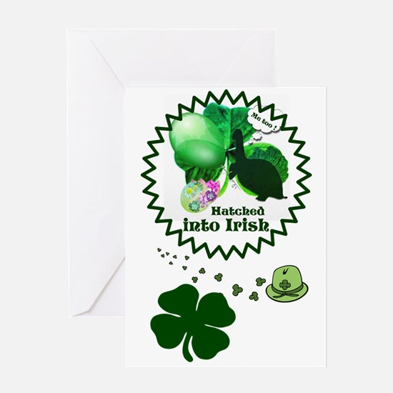 Hatched into Irish Greeting Cards