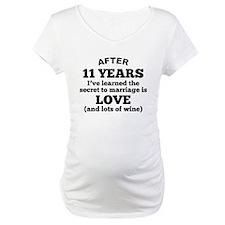11 Years Of Love And Wine Shirt