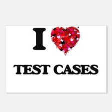 I love Test Cases Postcards (Package of 8)
