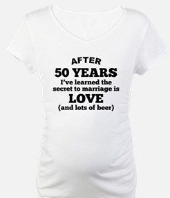 50 Years Of Love And Beer Shirt