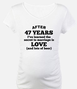 47 Years Of Love And Beer Shirt