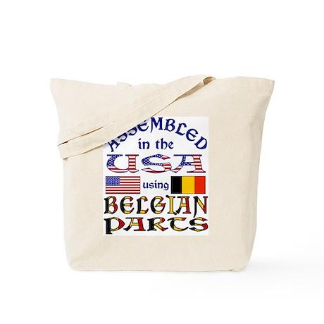 USA/Belgian Parts Tote Bag