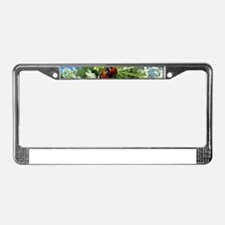 luck beetle License Plate Frame