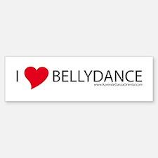 I love bellydance Bumper Bumper Bumper Sticker