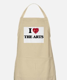 I Love The Arts Apron