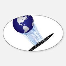 Earth World Decal