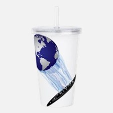 Earth World Acrylic Double-wall Tumbler