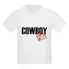 Off Duty Cowboy T-Shirt