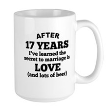 17 Years Of Love And Beer Mugs