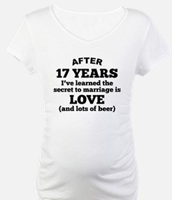 17 Years Of Love And Beer Shirt