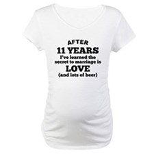 11 Years Of Love And Beer Shirt