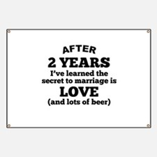 2 Years Of Love And Beer Banner