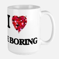 I Love The Boring Mugs