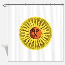 Antique Sun Shower Curtain