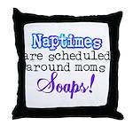 Scheduled Naptimes Throw Pillow