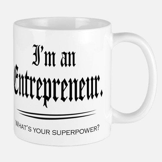 Entrepreneur Superpower Mugs