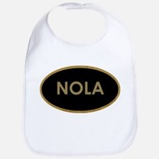 NOLA BLACK AND GOLD Bib