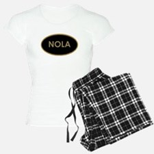 NOLA BLACK AND GOLD Pajamas