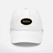 NOLA BLACK AND GOLD Baseball Baseball Cap