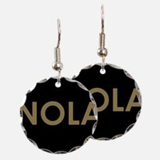 NOLA BLACK AND GOLD Earring